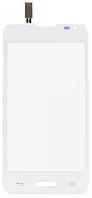 Сенсор (тач скрин) LG Optimus L65 D280 Dual Sim White (белый)