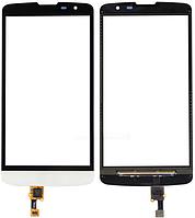 Сенсор (тач скрин) LG L Bello D331, D335 Dual White (оригинал)