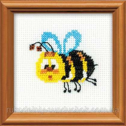 Набір для вишивання для початківців «Бджілка» (1111), Риолис