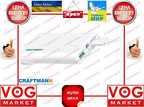 Внешний аккумулятор Craftmann UNI 750 7500mAh