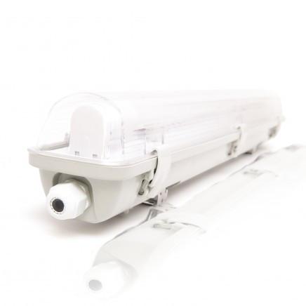 Светодиодный светильник  ЕВРОСВЕТ 9Вт LED-SH-10с Led лампами (1*600мм)