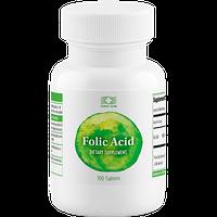 Фолиевая кислота  400 мкг 100 таб витамины для женщин, укрепление иммунитета, для беременныхUSA