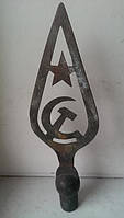 М Навершие на флаг медь бронза 20-30 г СССР