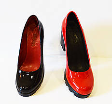 Туфли красные лакированные Ripka, фото 3