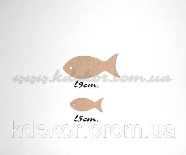 Рибка заготівля для декупажу і декору (довжина 5см.)
