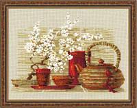 Набор для вышивания крестом «Чай» (1122), Риолис
