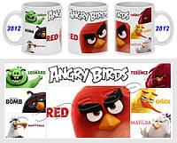 Кружка чашка Angry Birds
