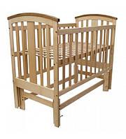 Детская кроватка Woodman Mia Натуральное без ящика