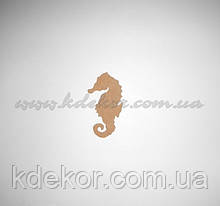 Морський коник заготівля для декупажу та декору