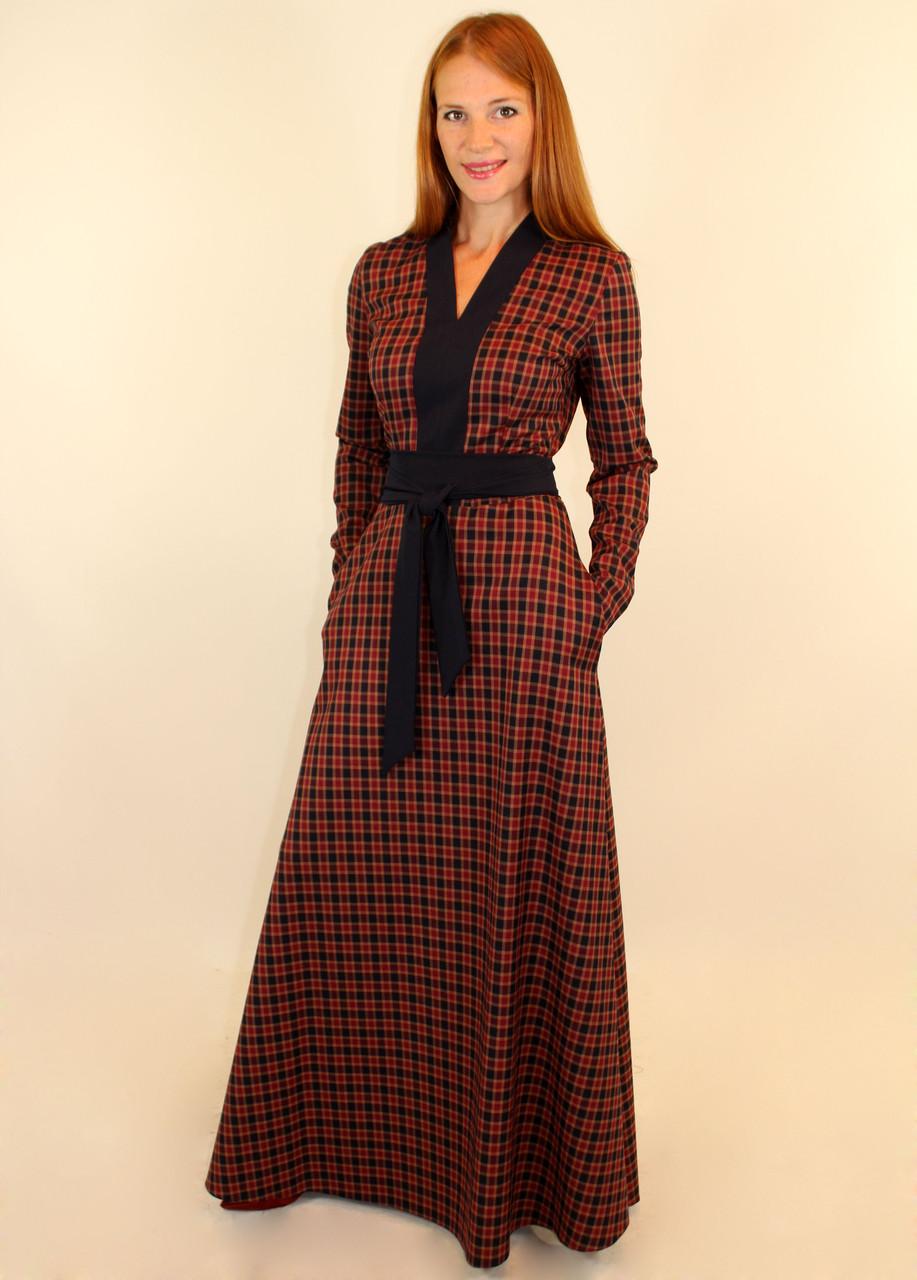 6cec1209c84 Теплое платье с длинным рукавом 44-46-48 р  продажа