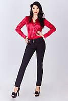 Женские молодежные зауженные брюки