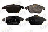 Колодки тормозные дисковые передние, комплект на Volkswagen Caddy.Код:6000425
