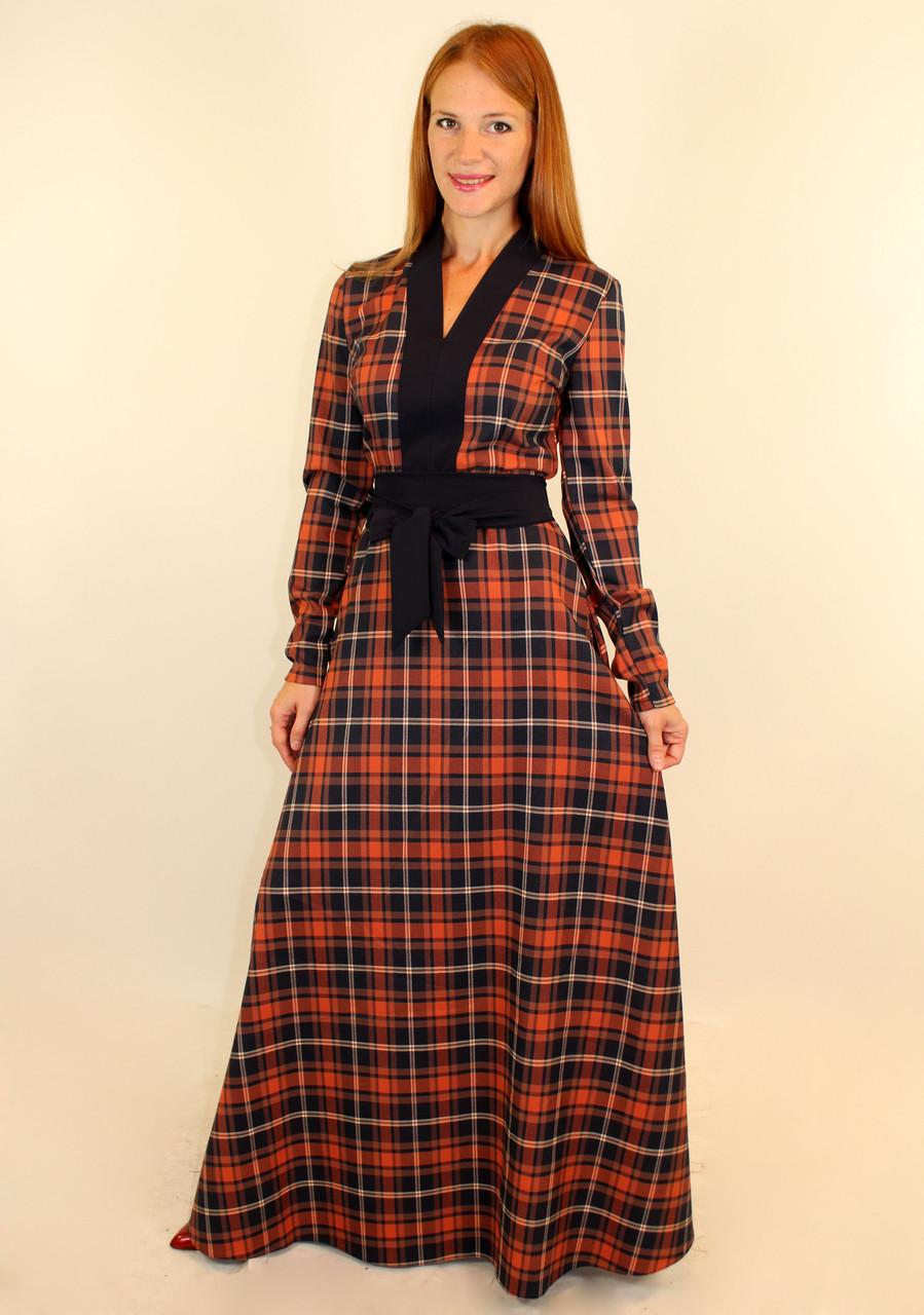 69e837fa3cd Модное платье в клетку осень 44-50 р - Оптовый интернет-магазин по продаже