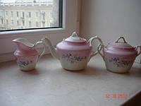Сервиз Гарднер фарфор чайник молочник царизм