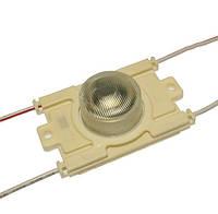 Світлодіодний модуль M951DB, світлодіодний кластер білий  3.24 вт для торцевої підсвітки лайтбоксів