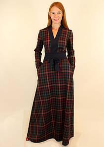 Длинное теплое платье 44-50 р