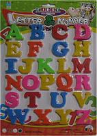 Магнит 8101 алфавитка Буквы Английские большие 37х26см