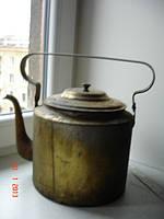 Чайник латунный ленинский
