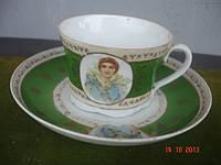 Чайная пара Вербилки модерн фарфор
