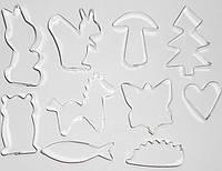 Формочки металлические для печенья (10 фигурок) Kamille