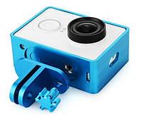 Чехол рамка для экшн камеры Xiaomi Yi Sport Blue Лицензия