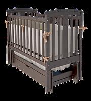 Детская кроватка Woodman Mia УМК Шоколад-Шоколад ящик