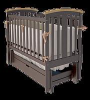 Детская кроватка Woodman Mia УМК Шоколад-Натуральное ящик