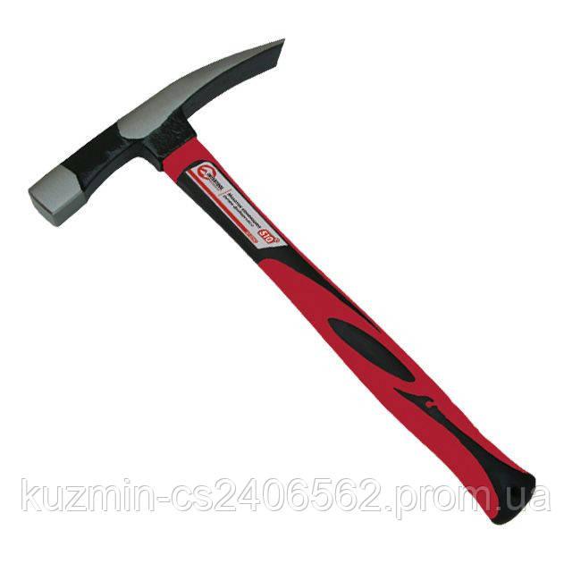 Молоток каменщика 510 г ручка из фибергласса INTERTOOL HT-0240