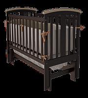 Детская кроватка Woodman Mia УМК Шоколад-Слоновая кость без ящика