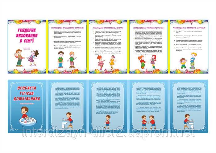 Папка-передвижка Гендерное воспитание