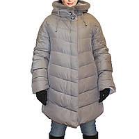 Зимняя куртка женская с норковым воротником