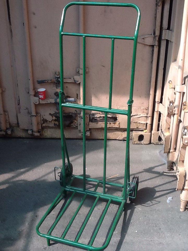 Грузовая тележка цельнометаллическая, грузоподъемность до 200 кг.