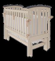 Детская кроватка Woodman Mia УМК Слоновая кость-Шоколад без ящика
