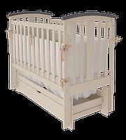 Детская кроватка Woodman Mia УМК Слоновая кость-Шоколад ящик