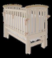 Детская кроватка Woodman Mia УМК Слоновая кость-Натуральное без ящика