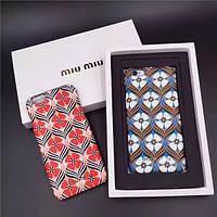 """Iphone 6/6s 4.7 оригинальный чехол панель бампер накладка PC для телефона """" Miu Miu """""""