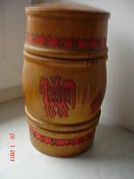 Боченок деревянный в русском стиле