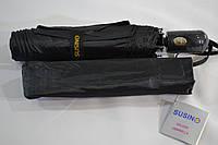 """Мужской зонт полуавтомат оптом на 8 карбоновых спиц от фирмы """"Susino""""."""