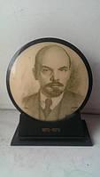 Настольная агитация Ленин карболит СССР цена 1р65к