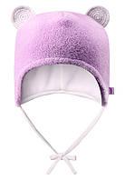 Детская зимняя шапка для девочки Reima Leo 518306-5000. Размер 36 40 и 44.