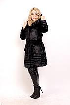 Женская шуба из меха нутрии, Стрижка, фото 2