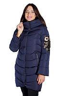 Женское пальто на холлофайбере ENYI 1