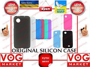 Силикон Alcatel Pop C3 цветной, фото 2