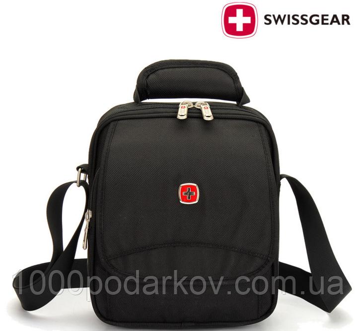Стильная мужская сумка SwissGear - интернет магазин 1000podarkov.com.ua в  Кропивницком 48bfcc809ab6e