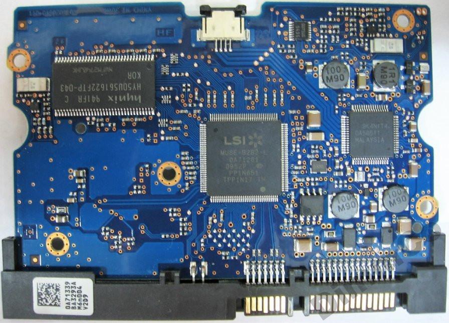 Плата HDD 2TB 7200rpm 32MB SATA II 3.5 Hitachi HUA722020ALA330 0A90201