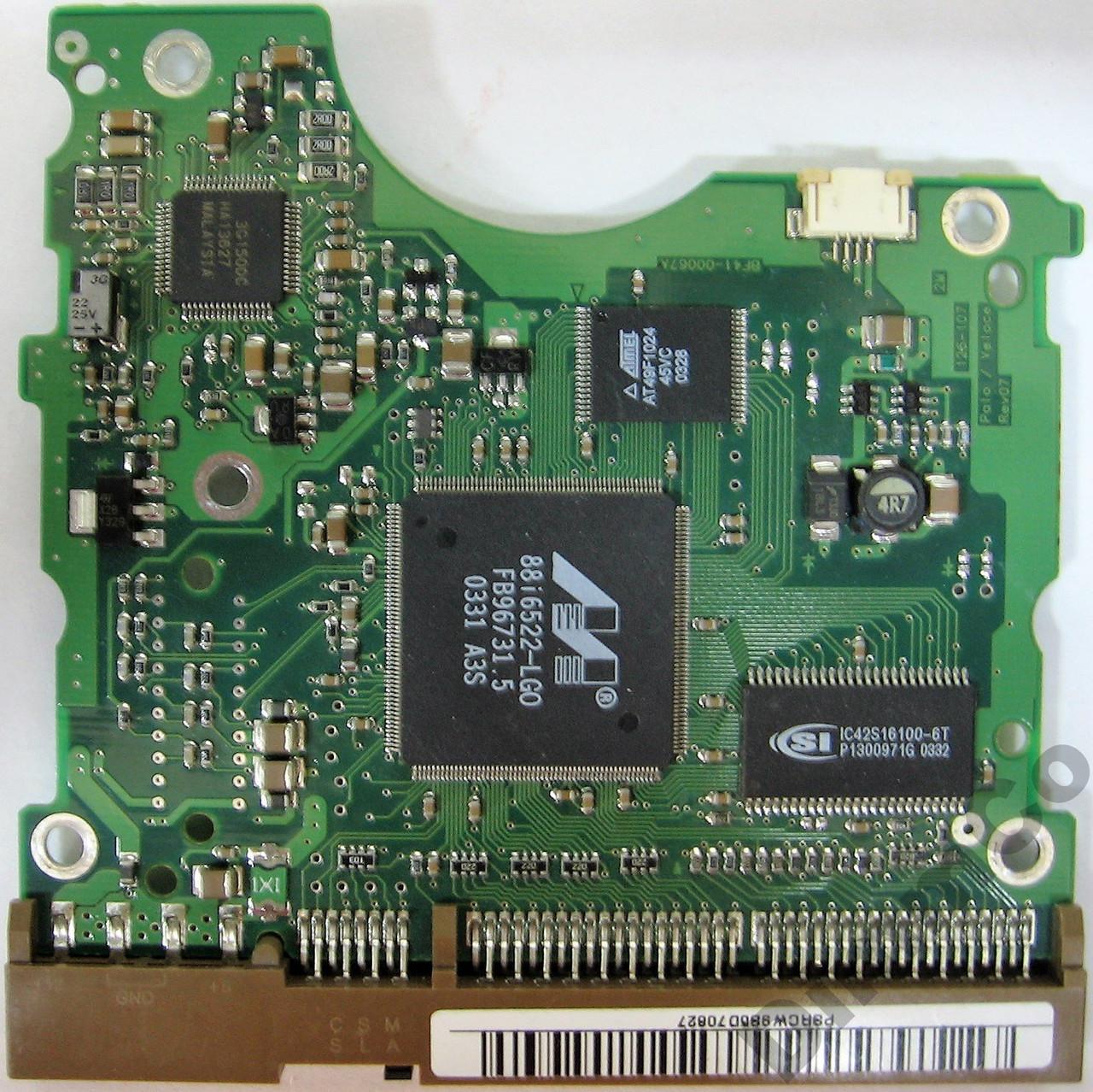 Плата HDD 40-160GB 7200rpm 2MB IDE 3.5 Samsung BF41-00067A (SP1604N SP1203N SP0802N SP0401N)