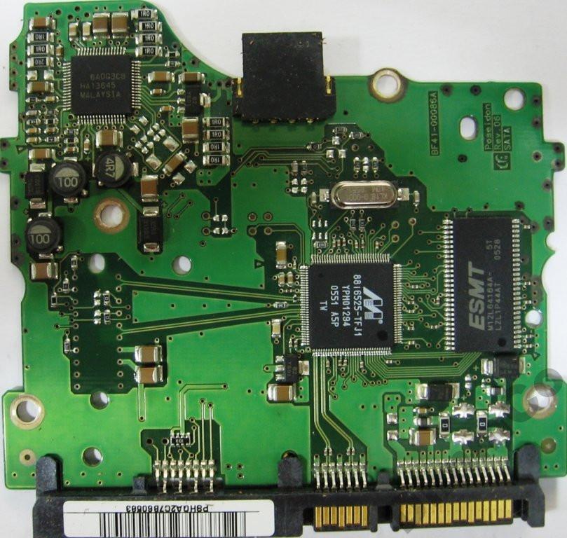 Плата HDD 160-250GB 7200rpm 8MB SATA II 3.5 Samsung BF41-00086A (SP2504C SP2004C SP1603C)
