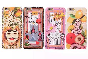 """Iphone 6 / 6S / 6 Plus оригинальный чехол панель бампер накладка  PC для телефона  DG """" Dolce & Gabbana"""