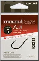 Крючки Metsui Aji № 9- Южная Корея