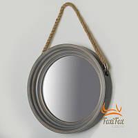 Зеркало настенное круглое 40 см
